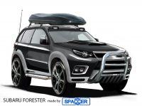 Subaru mit Spaccer höhergelegt