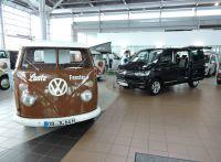 Große Doppelpräsentation und Oldtimer-Show des Caddy und T6 bei Kath in Hamburg