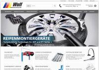 Der Onlineshop von Wulf Werkstattausrüstung zeigt sich in neuem Gewand und mit praktischen Funktionen.