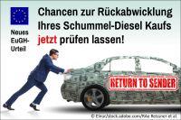 """Hammer-Urteil des EuGH – Jetzt sticht der """"Widerrufs-Joker"""" und bereitet einer Diesel-Entschädigung den Weg"""