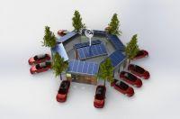 Die Module von HYB Energy sind in beliebiger Größe kombinierbar und schnell überall aufgestellt.