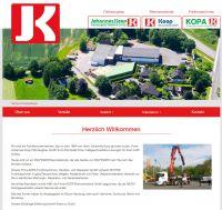 Koop Verbundseite, Zugang zu Unterseiten Koop Fahrzeugbau, Bremsendienst und KOPA Forstmaschinen