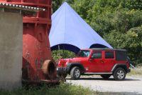 Jeep Präsentation im AdventureSteinbruch