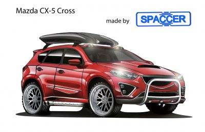 Mazda CX-5 Cross mit Spaccer