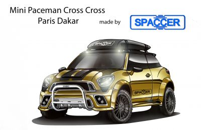 Mini Paceman Cross Cross mit Spaccer