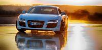 Audi R8 - Supersportler im kontrollierten Drift