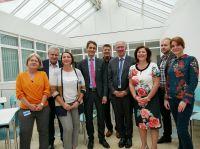 Kickoff Forschungsprojekt AktMel mit Vertretern von AKDB, Landkreis Wunsiedel i. Fichtelgebirge und iisys