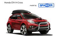 Honda CR-V4 Cross mit Spaccer