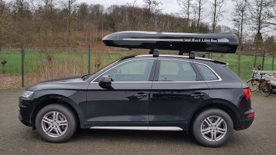 Oyster Dach- und Surfbox auf Q 5