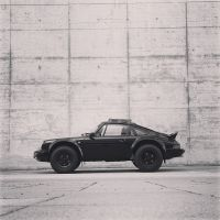 Porsche 911 Syberia RS: Egal ob Kiesgrube oder Vernissage