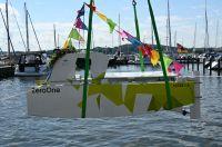 Prototyp für emissionsfreie Schleiboote im Schleswiger Hafen getauft