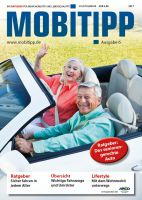 """1 Thema, 1 Heft, 100% Information: Mit dem MOBITIPP """"Das seniorengerechte Auto"""" werden Leser zu Experten in eigener Sache"""