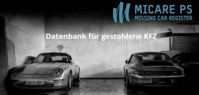 MICARE PS - Datenbank für gestohlene Autos