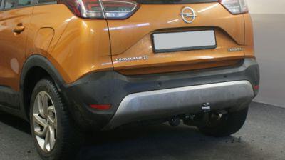 vertikal abnehmbare Anhängerkupplung am Opel Crossland X