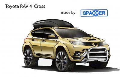 Toyota RAV 4 Cross mit Spaccer