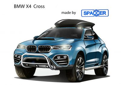 BMW X4 Cross mit Spaccer