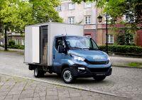 Vorreiter: Quantron mit Hybrid-Antrieb auf Basis des IVECO Daily preislich und technisch derzeit konkurrenzlos