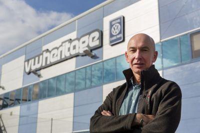 David Ward: Gründer, Direktor und Enthusiast von VW Heritage.