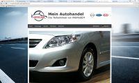 Neue Webseiten für Autohändler und Autohausgruppen