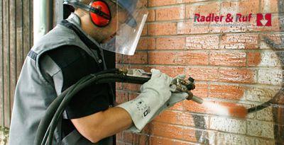 Sandstrahlpistolen von Radler & Ruf