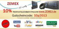 ZEMEX 10% Gutscheincode