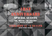 1 Jahr SYLD STORE BERLIN mit DR. MOTTE & DJ JAUCHE