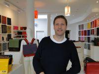Christian Eberhardt im tausche Laden Stuttgart