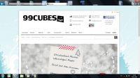 Ausblick auf den 99cubes Shop, der auf klares Design und Nutzerfreundlichkeit setzt