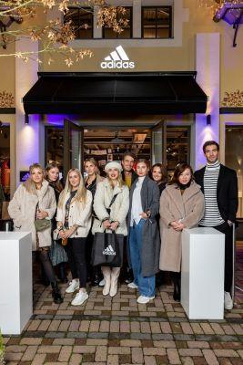 Der adidas Store in Wertheim Village feierte Eröffnung mit rund 300 illustren Gästen.
