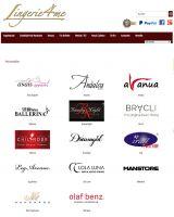 Große Auswahl an namhaften Dessous Herstellern - lingerie4me.de