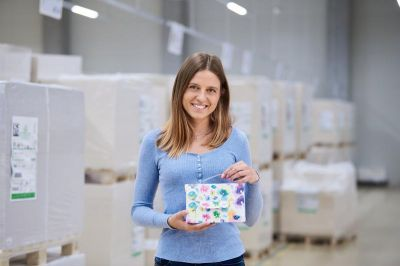 Foto: Ebro Color GmbH - Handtasche aus Papier