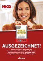 """Ausgezeichnet:  NKD ist """"Preis-Sieger 2017"""""""