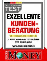 """NKD wurde erneut ausgezeichnet: Das deutsche Textilunternehmen erhält die Auszeichnung """"Exzellente Kundenberatung""""."""