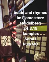 Beats & Rhymes mit Mr. Mar (Stieber Twins) am 24.03. im The Flame Sneaker Store , Heidelberg