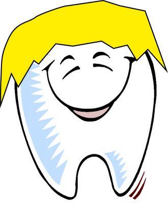 Ich hab die Haare schön - ich hab die Zähne schön - Zahnbleaching bei Friseur Manuel Grund in Düsseldorf