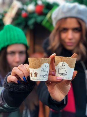 Cupffee - der essbare Kaffeebecher