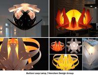Button Loop Lamp: Design-Lampe mit über 100 Form-Varianten von Colani-Schüler Claus Hencken