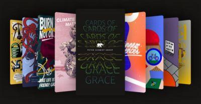 Individuelle Grüße digital versenden: mit der Crads of Grace App der Peter Schmidt Group (© )