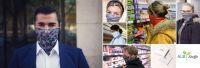 Corona-Mundschutz – Mund-/Nasenmaske wandelt sich via Loop zum modischen Accessoire
