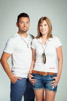 Herren T-Shirt und Damen Poloshirt von FIFTEENZEROFIVE