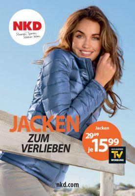Herbstauftakt bei NKD: Jacken zum Verlieben zum Aktionspreis von 15,99 Euro - ab 30.8. in allen NKD Filialen und auf nkd.com.