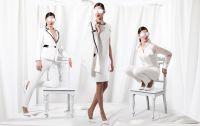 Traditionell trifft edgy: Business Kleidung für Frauen vom Hongkonger Label Isabella Wren. Foto: Firma