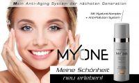 Die My One Anti-Aging 24h-Pflegeserie für Tag und Nacht inklusive Cleanser für jeden Hauttyp.