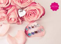MY COMPLIMENTS - Compliment heart du bist schön + diverse gemstones