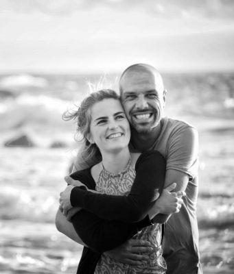 Helene Moll, Gründerin und Inhaberin von living4happiness zusammen mit ihrem Mann