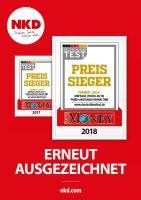 """Erneute Auszeichnung: NKD ist """"Preis-Sieger 2018"""""""
