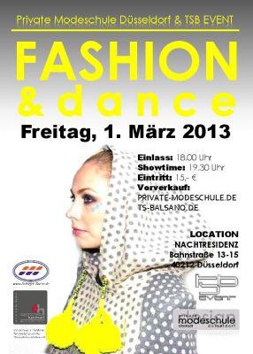 Fashion and Dance Show - Private Modeschule Düsseldorf