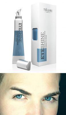 """""""Eyeshine"""" straffende Augencreme von Tolure Cosmetics: Frischekick für Männer-Augen"""