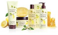 "Pflegeserie ""Citron, Honey & Coriander"" der Fruits & Botanicals Collection von Crabtree & Evelyn"