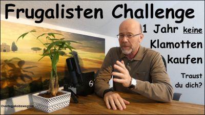 Frugalisten Challenge -  ©verlagjakobsweglive